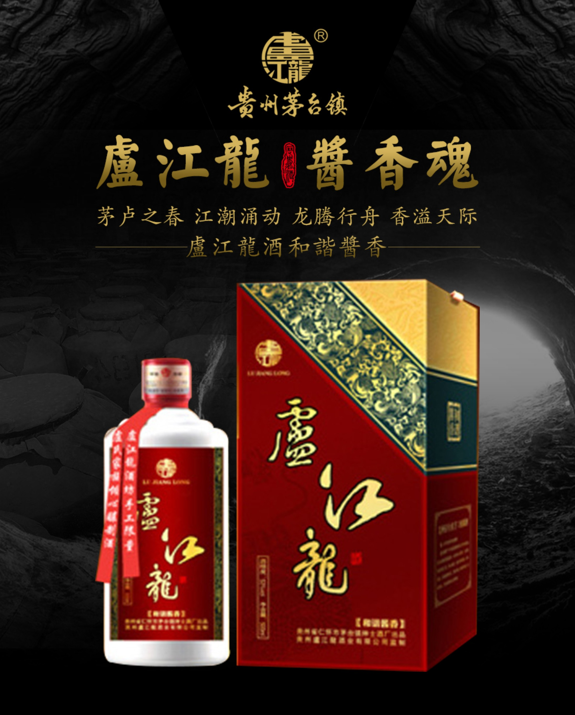 盧江龍酒和諧醬香-500mL